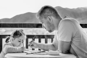 Father daughter family law parenting